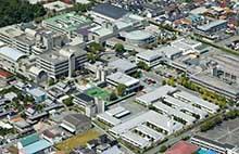 総合リハビリテーションセンターの外観