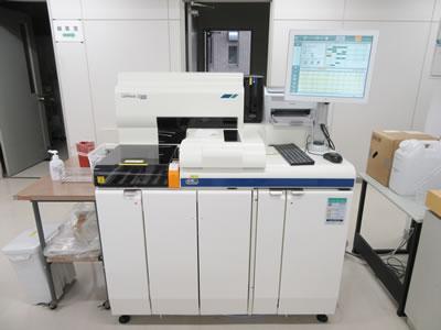 免疫血清測定装置の写真