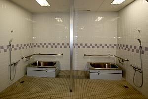 生活評価コーナー、浴室の写真