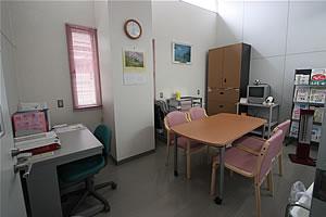 指導相談室(さくらルーム) カンファレンス室 医薬品情報管理室の写真