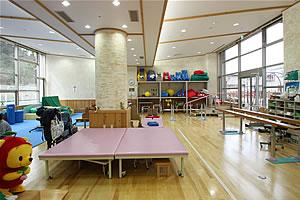 小児リハビリテーション室 室内