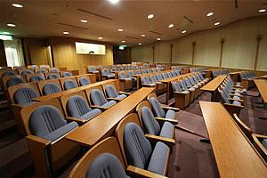 研修ホール、客席の写真