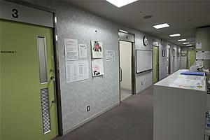 心理・言語聴覚療法室付近の写真