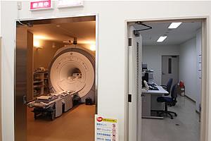 MRI室の写真 入り口