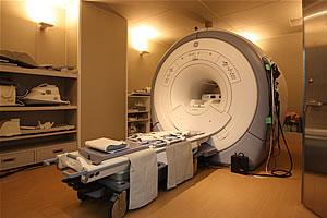 MRI室の写真 内部