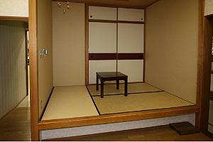 実生活体験コーナー、和室の写真
