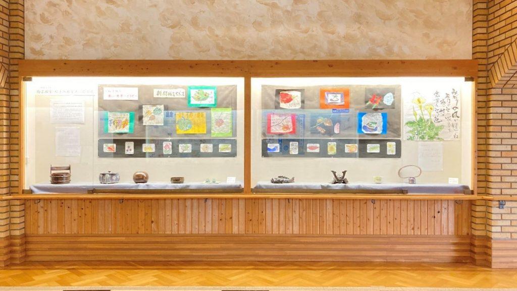 画像1|研修交流センター 陶芸教室・絵手紙教室共同作品展