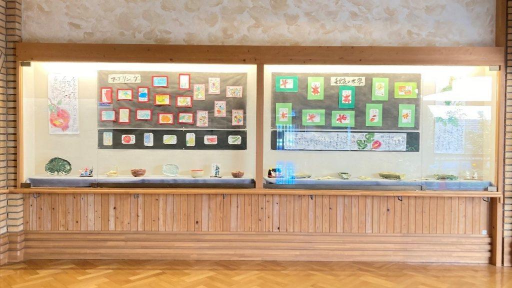 画像2|研修交流センター 陶芸教室・絵手紙教室共同作品展
